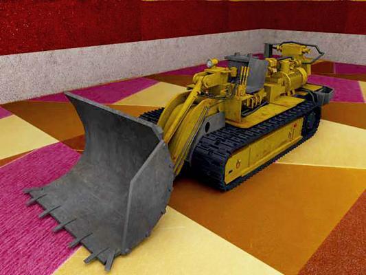 现代装煤机设备