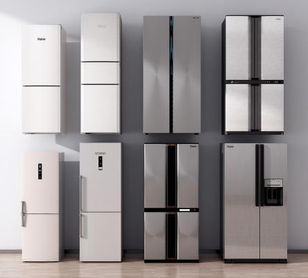 现代冰箱冰柜 双门冰箱 智能冰箱