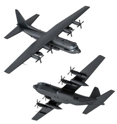 现代军用运输机 货运飞机 战斗机