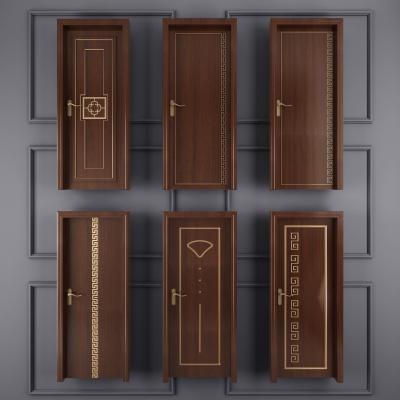 新中式门房门卧室门实木门