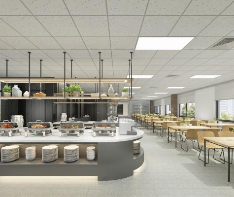 现代自助餐餐厅