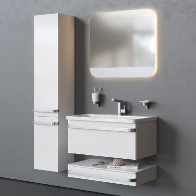 现代风格卫浴柜架 洗手台 洗手盆