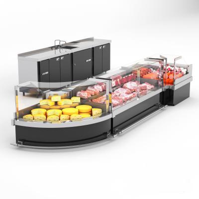 现代超市商场冰柜