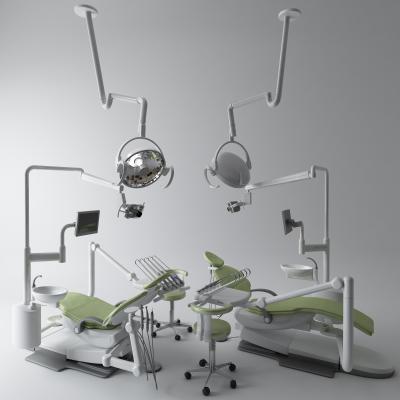现代牙科躺椅