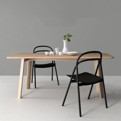 现代实木餐桌椅