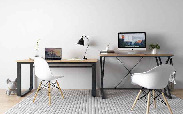 現代書桌椅組合