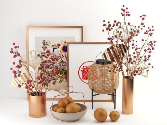 现代装饰摆件 花束