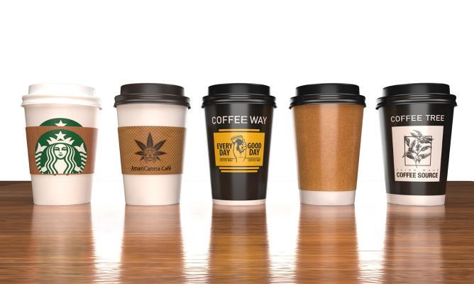 现代饮料 咖啡杯