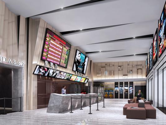 现代大厅电影院 吧台