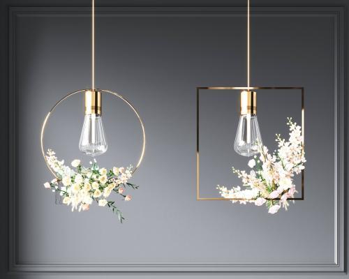 现代植物吊灯 餐厅吊灯