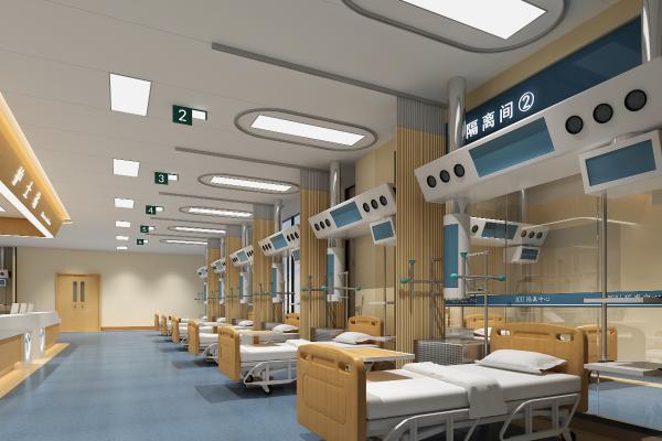 现代风格医院护士站