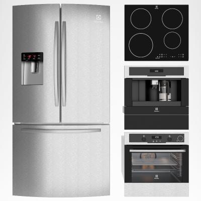 现代冰箱 微波炉 烤箱