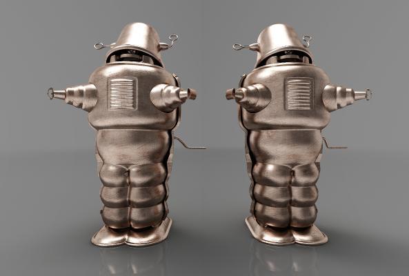 现代风格机器人