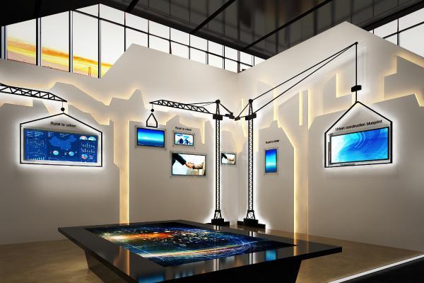 现代城市规划展厅