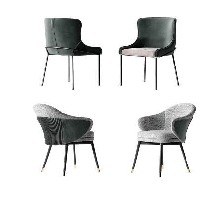 现代餐椅_单椅