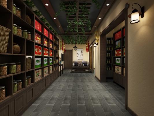 新中式專賣店 禮品店