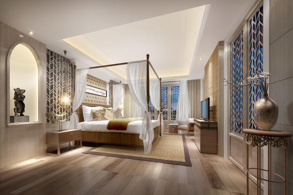 东南亚酒店民宿客房