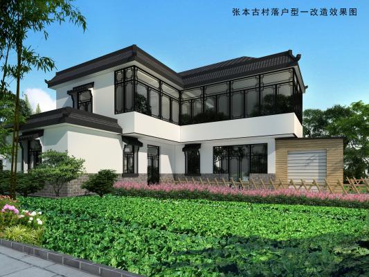 传统中式别墅