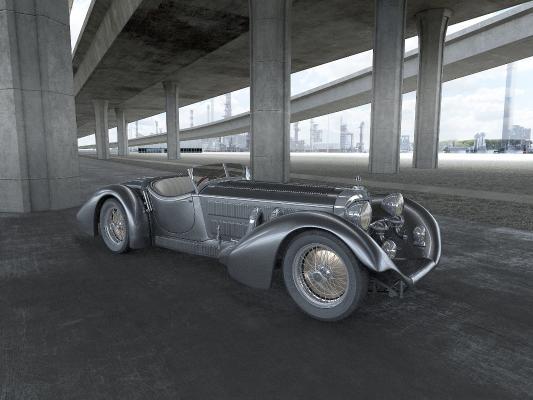 古典老爷车 轿车