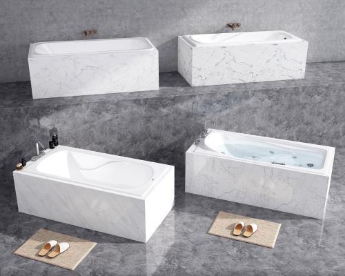 现代嵌入式浴缸 酒店浴缸