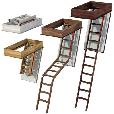 现代逃生楼梯
