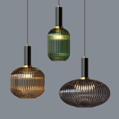 日式玻璃吊灯
