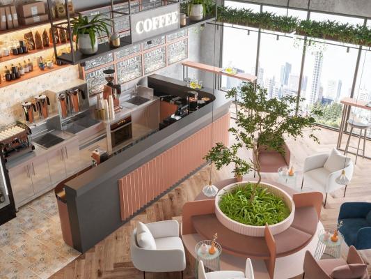 北欧网红咖啡厅