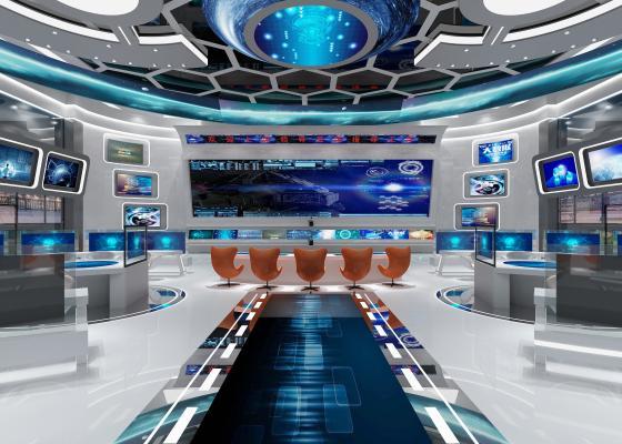 现代科技展厅 科技馆