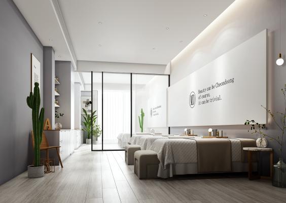 现代美容院 美甲室