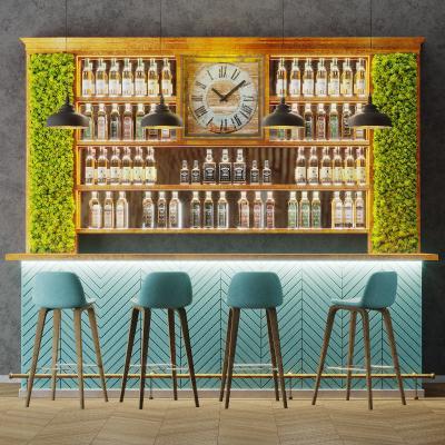 现代酒吧 吧台