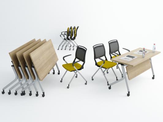 现代培训桌椅 条桌 会议条桌