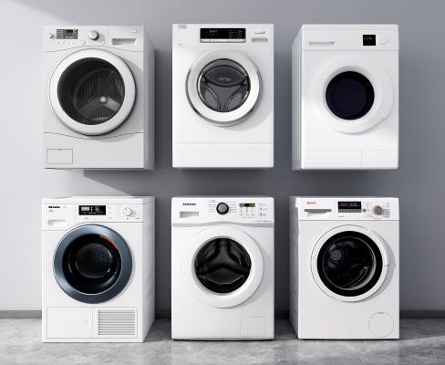 现代滚筒洗衣机 洗衣机