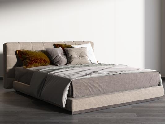 現代床,雙人床,時尚床,現代臥室,主臥,次臥,女兒房,