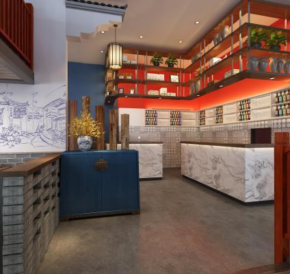 新中式砂锅店 餐厅