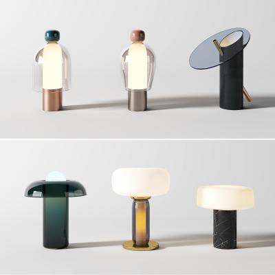 现代台灯 创意台灯 玻璃台灯
