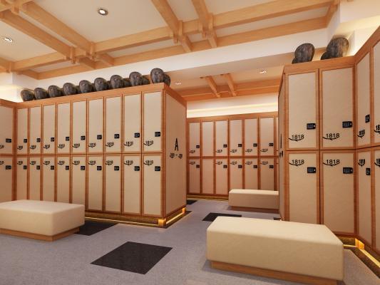 日式更衣室
