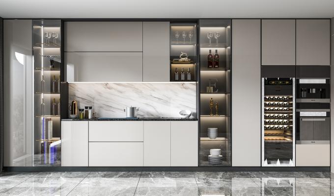 现代酒柜 橱柜 装饰柜