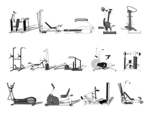 现代运动器材 健身器材
