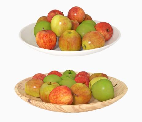 现代水果 苹果 果盘