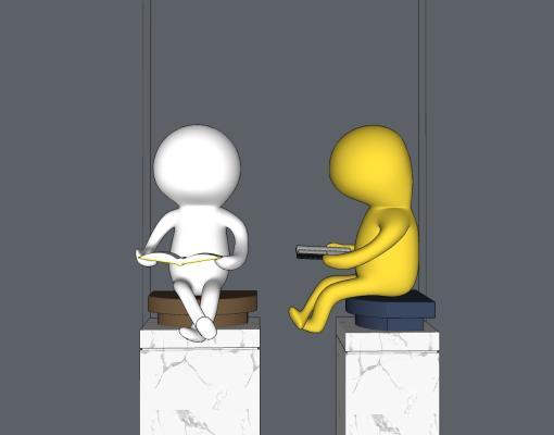 现代人物雕塑