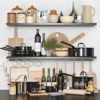 北欧厨房用品厨具 锅 餐具