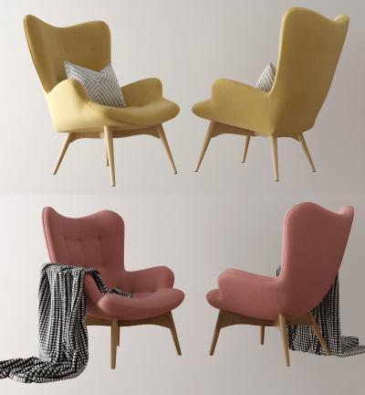北欧单椅 休闲椅