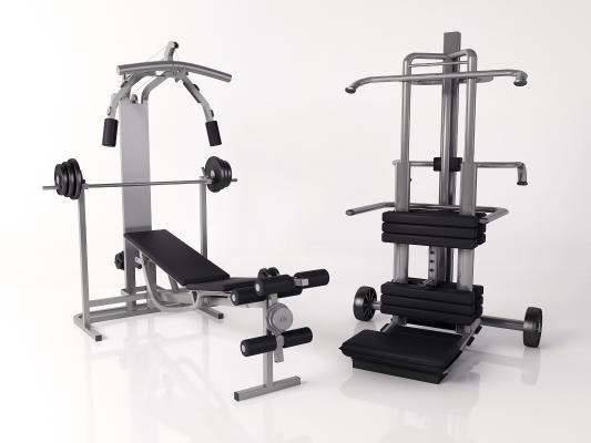 现代健身器材 单杠 肌肉训练器
