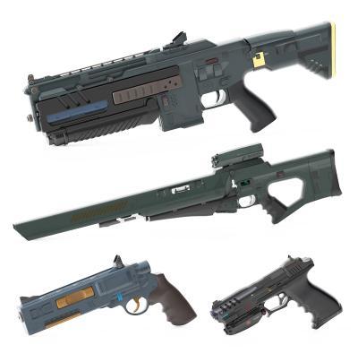 现代枪支武器