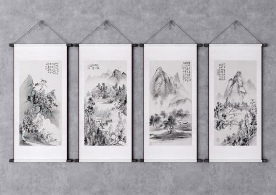 新中式山水�飚� �b��� 山水��