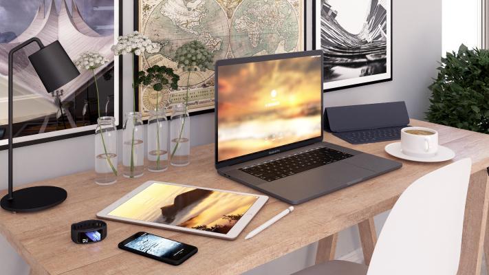 现代电脑 电脑桌
