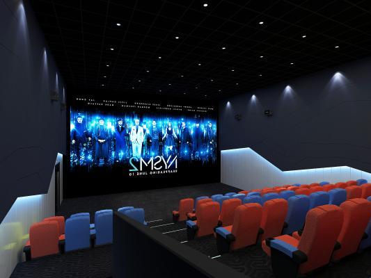 现代电影院 影厅