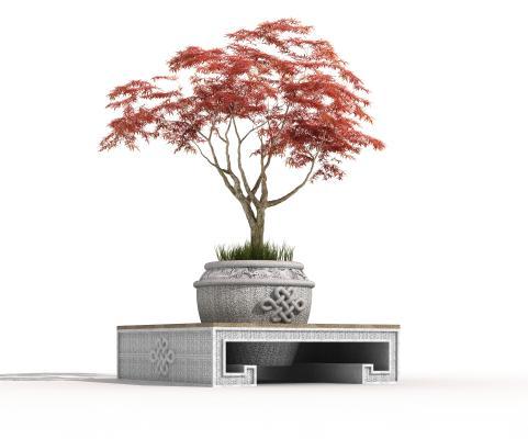 新中式盆景盆栽