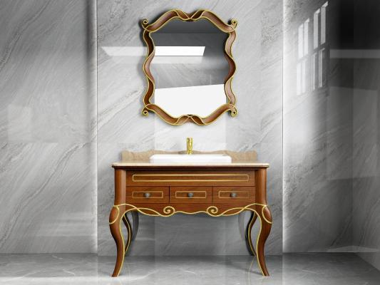 新古典浴室柜