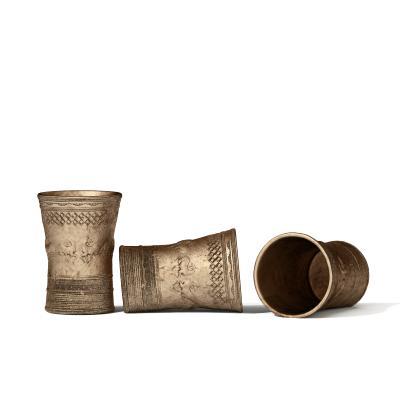 简欧饰品 铜器瓶罐